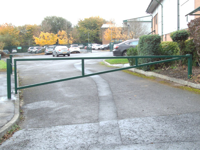 Swinging Gate - Security Bollards West Yorkshire